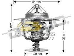 DAYCO Thermostat FOR Saab 9-3 2//01-9//03 2L TMPFI Turbo B205EDM