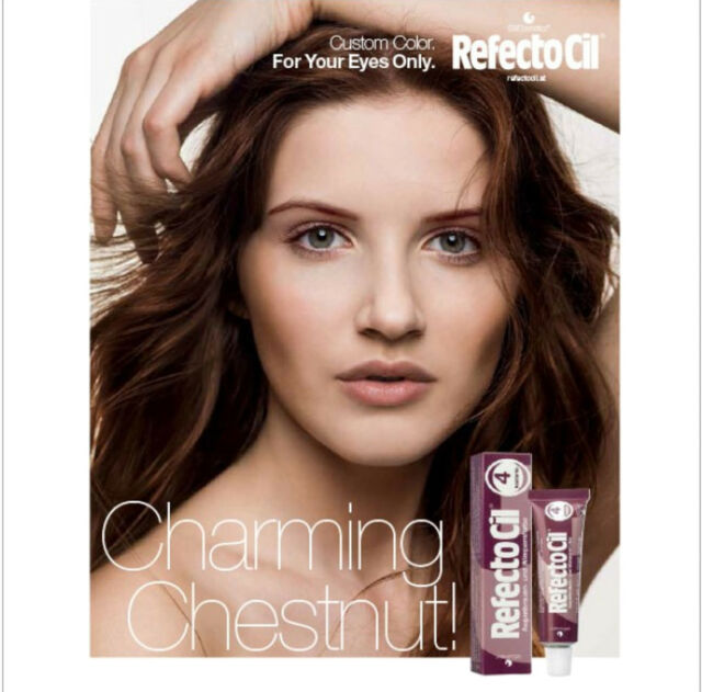 Refectocil Chestnut 4 Eyelash And Eyebrow Tint 15ml Ebay