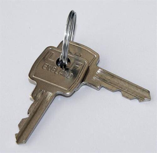 2 Stück Ersatzschlüssel • Bisley H9990