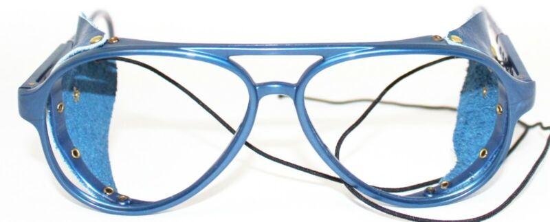 200$ Neu Vintage Vuarnet 330 Blau Aviator Rahmen Brille Sonnenbrille Ersatz