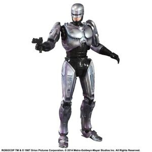 New Robocop Play Arts Kai Robocop Figure Square Enix Ebay