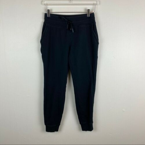 Lululemon Warm Down Jogger - Black - Size 6 - Full