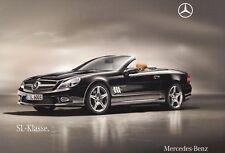 MERCEDES SL R230 Facelift 300 350 500 600 63 65 AMG Prospekt Brochure 2010 67
