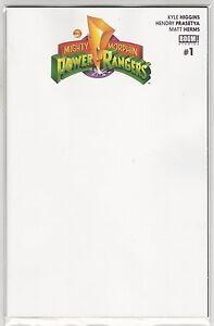 Studios MIGHTY MORPHIN POWER RANGERS #1 Blank Cover Variant VF//NM BOOM