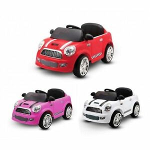 Auto Elettrica Per Bambini Auto Baby Mini Car 6v Bianca Lt848 Ebay