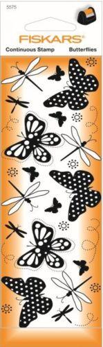 Fiskars Fortlaufende Stempel für Fiskars Stempelrad Schmetterling Schmetterlinge