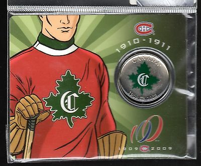 2009 Montreal Canadiens 50 Cent Colourized Special Issue!!