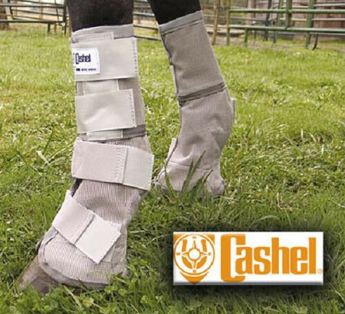 Cashel Crusader SET OF FOUR LEG GUARDS Cool Mesh Stiefel Yearling Fly Control Fits Yearling Stiefel 2128ce
