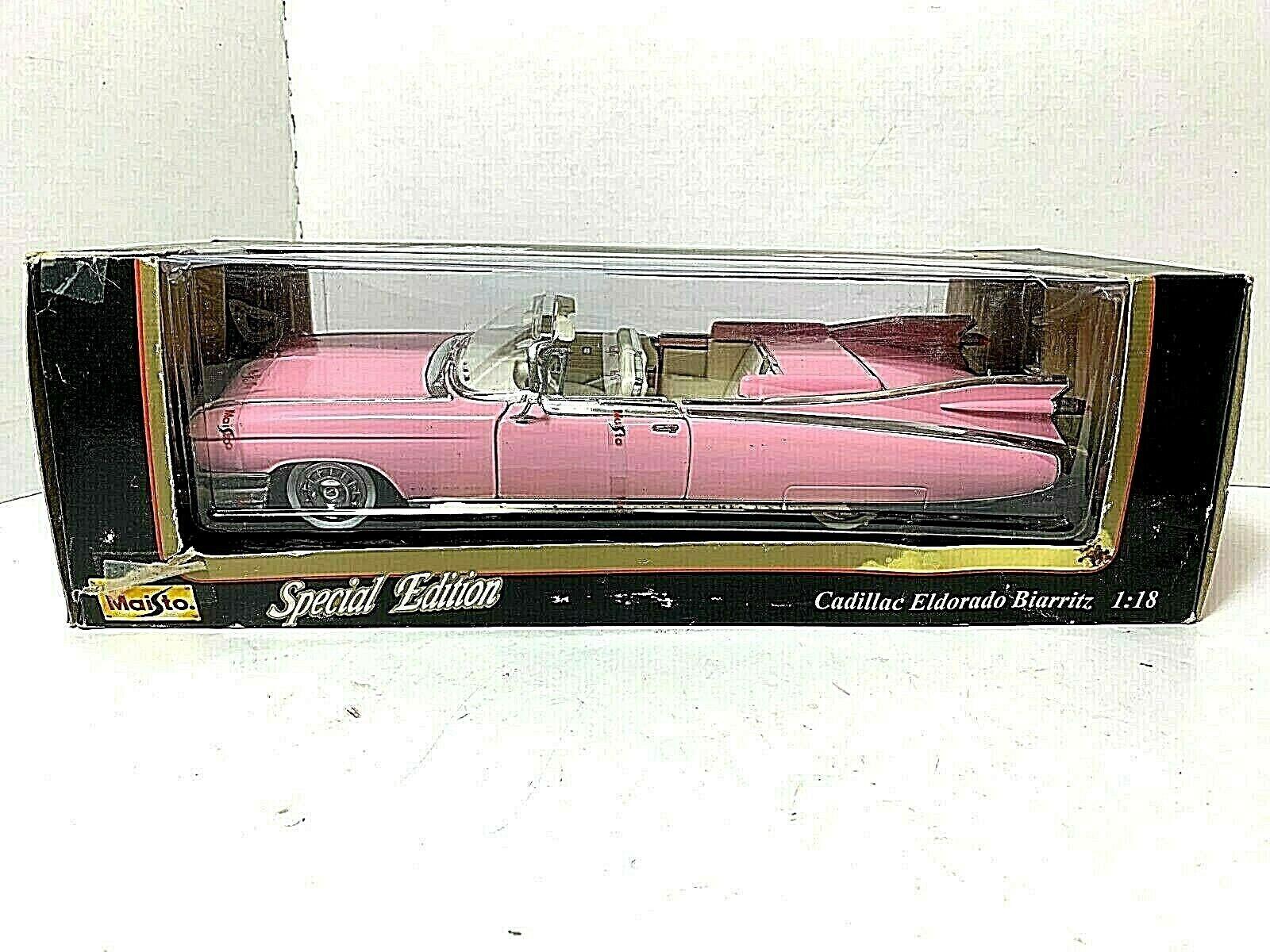 Maisto  '1959 Cadillac Edldorado Biarritz Congreenible' Congreenible' Congreenible'   Die-Cast   1 18 c5356c