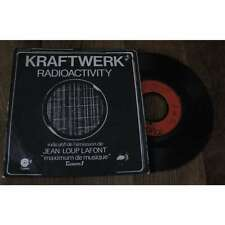 KRAFTWERK - Radioactivity French PS 7' Prog Electro 76' Indicatif Europe 1