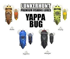 Lunkerhunt Yappa Bug 275 In 12 Oz Select Color Ebay