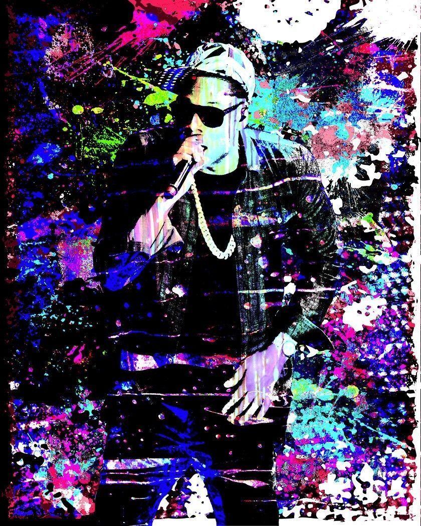 Jay-Z Art Print, Hip Hop Art Poster