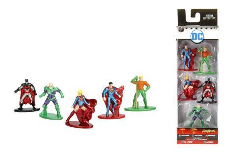 Nano Metalfigs DC Comics 5-Pack B