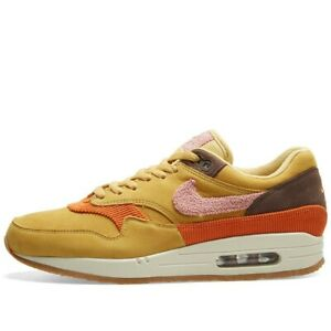 Details about NIKE AIR MAX 1 CREPE WHEAT GOLD BAROQUE BROWN PINK CD7861 700 UK 8, 10, 11