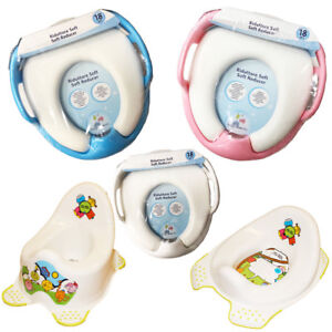 Toddler-Toilet-Seat-Kids-Chair-Trainer-Loo-Training-Step-Stool-Soft-Padded-Seat
