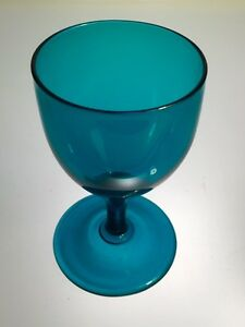 Peacock Green Holland Wine Glass #1 Antique