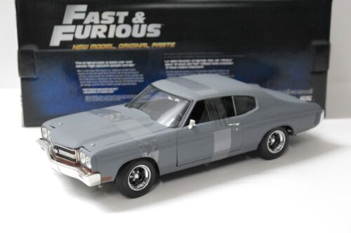 1:18 Ertl Chevrolet Chevelle Ss Grey presque and Furious New chez Premium-modelcars