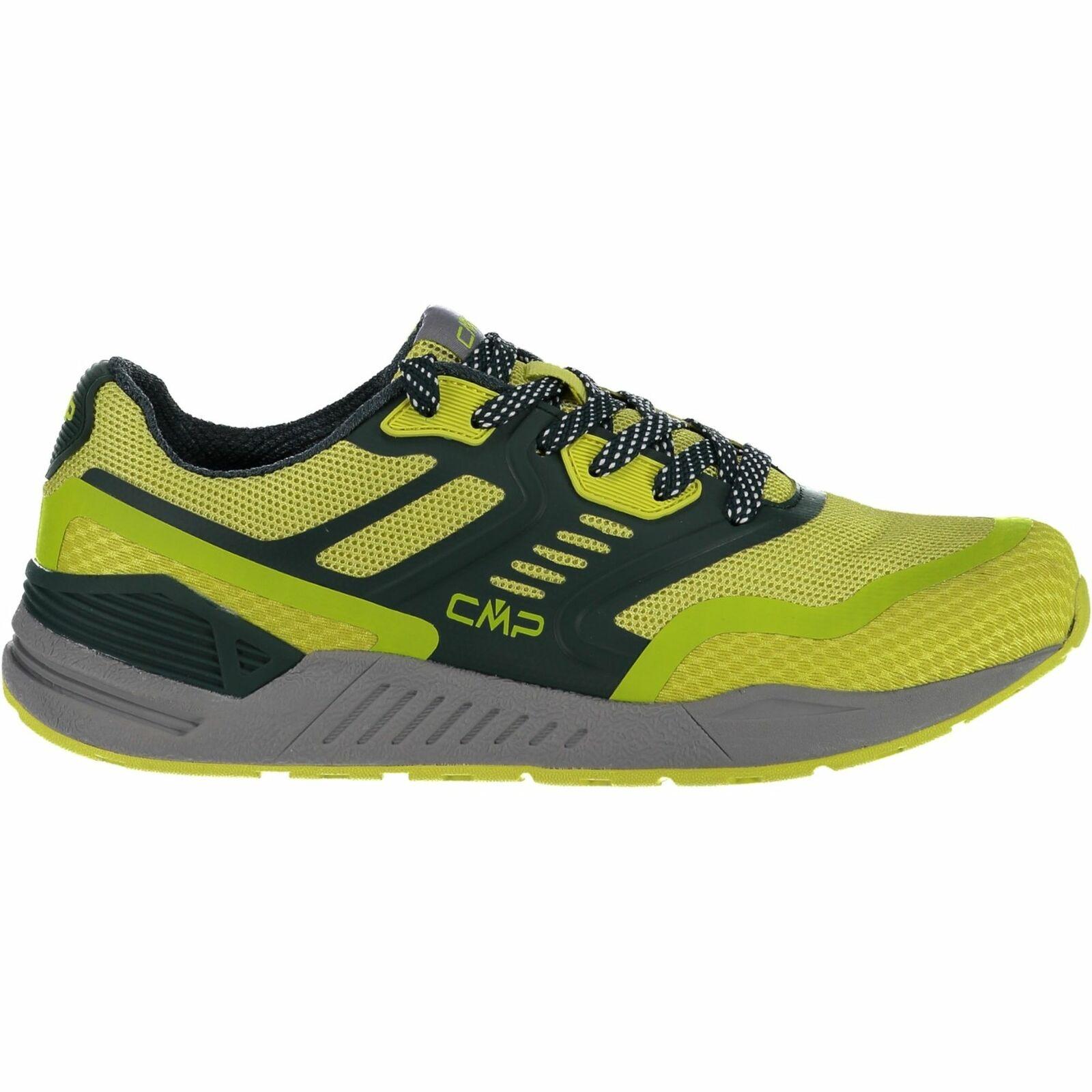 CMP zapatillas calzado deportivo Kuma Mesh Lifestyle zapatos verde claro monocromo Mesh