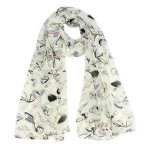 Autumn-new-fashion-women-shawl-scarf-lipstick-high-heeled-shoes-ladies-scarves