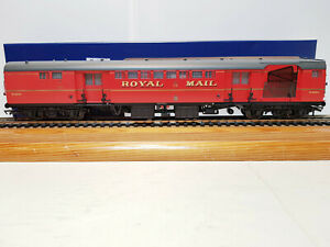 39-421b Bachmann BR Mk1 POS Post Office Sorting Van With Nets Royal Mail Red