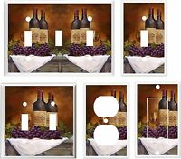 Wine And Grape Light Switch Cover Plate K 14 U Pick Plate Size