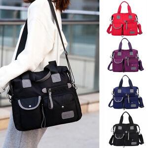 Details About Women Waterproof Messenger Bag Nylon Shoulder Bags Large Capacity Crossbody