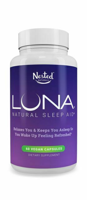 Luna 1 Forming Sleeping Pill 60 Capsules For Sale Online Ebay