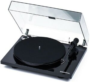 Pro-Ject-Essential-III-Turntable-OM10-Black-Vinyl-Project-Record-Player-5-Star