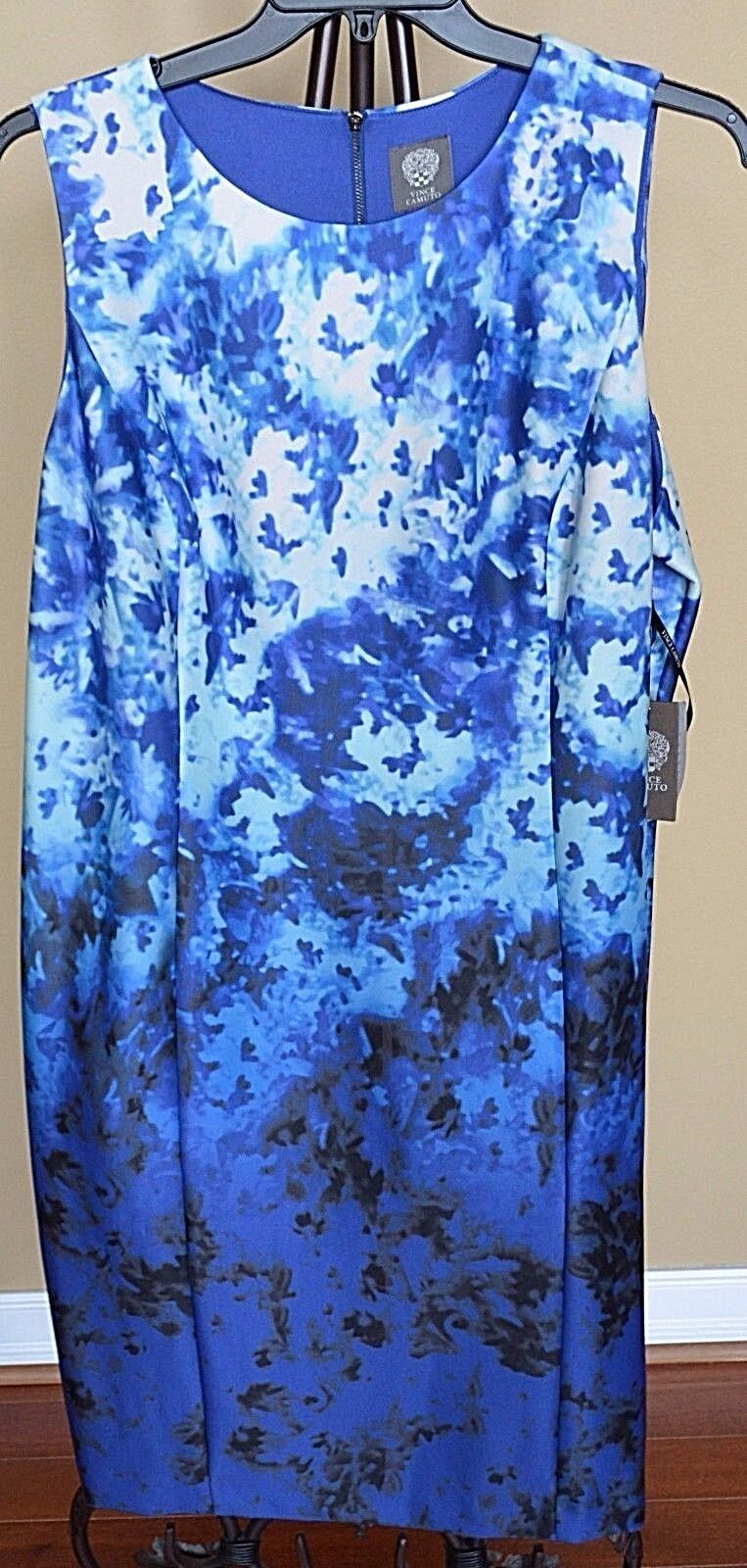 Vince Camuto Gradual Blaus Sheath Dress Sz.18W NWT