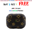 thumbnail 32 - Luxury New Leather AirPods Case Cover Protective Designs For AirPods Pro and 1/2