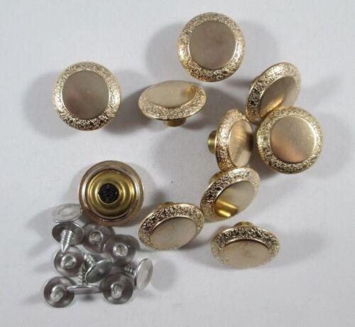 Jeans Bouton 10 Pièce avec rivets or boutons 18 mm #1083#