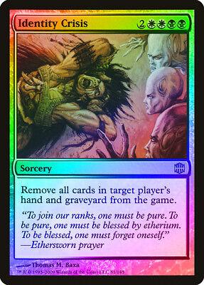 Identity Crisis FOIL Alara Reborn NM-M White Black Rare MAGIC MTG CARD ABUGames