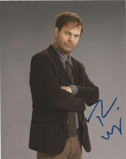 Rainn Wilson Backstrom Autographed Signed 8x10 Photo COA