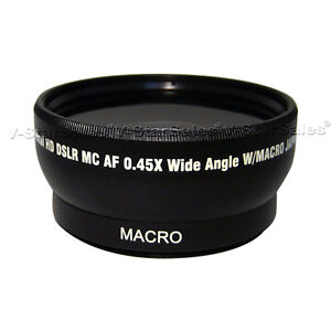 52mm-x-0-45-Super-Lente-Gran-Angular-para-Nikon-18-55mm-55-200mm-50mm-1-4-1-8