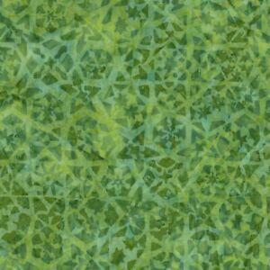 Tonga-Batik-Fabric-B5944-Light-Green-Vine-Geometric-Timeless-Treasures-YARD