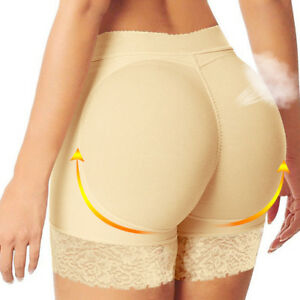 ed9645b417 Womens Hip Enhancer Shaper Butt Lifter Push up Bottom Padded Underwear  Shapewear