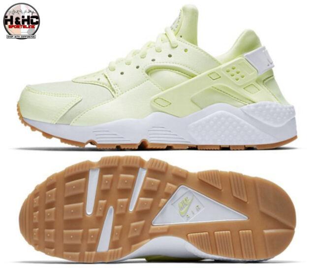 c67596d4e967 Nike Air Huarache Run 634835 702 Barely Volt White-Gum Yellow Women s Shoes