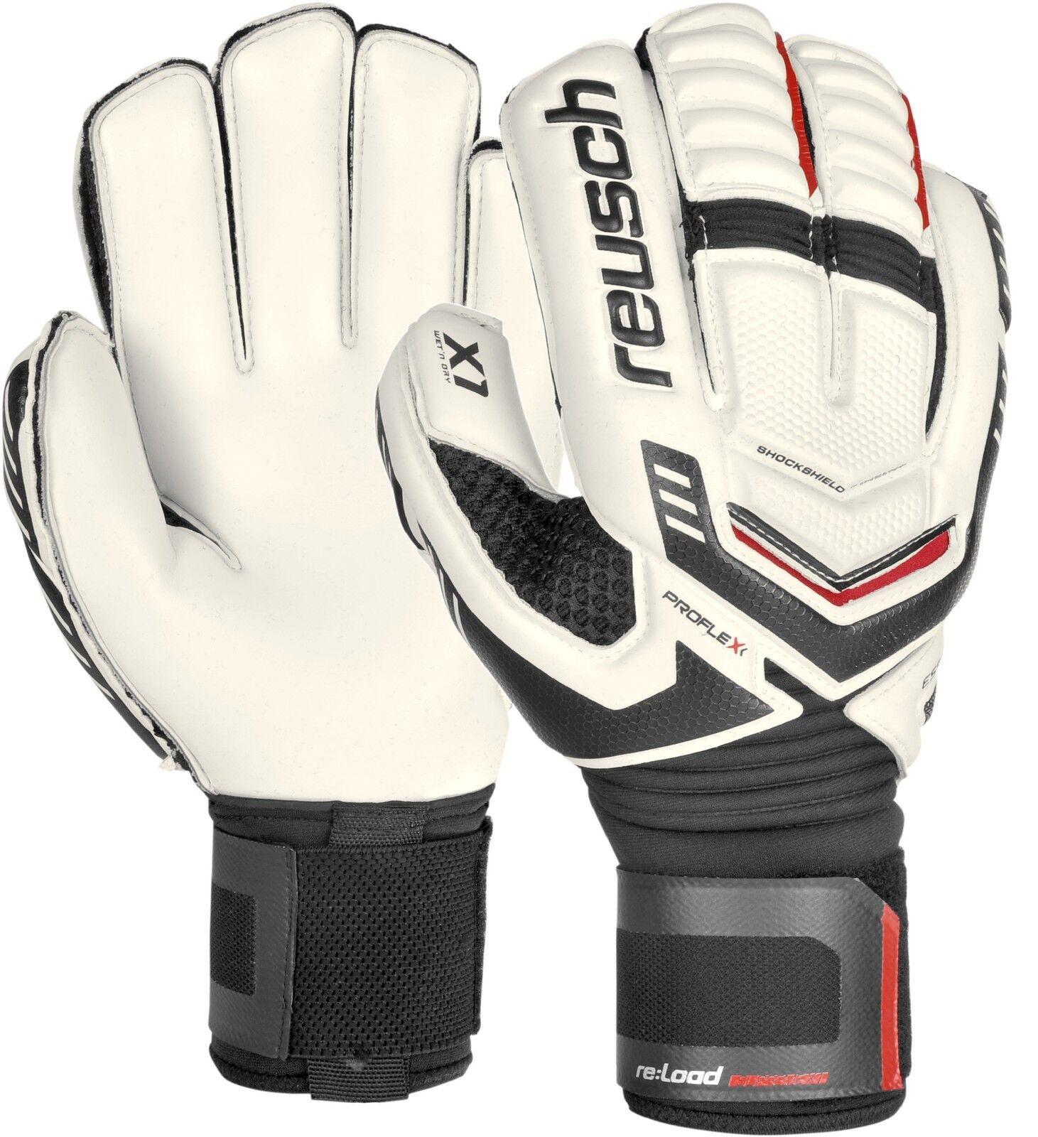 Handschuhe Torhüter REUSCH neu laden Supreme X1 weiß Customization