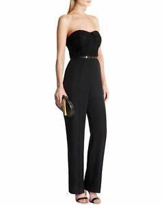 4a495ec30496 Ted Baker London Karlina Women s Black Textured Bandeau Maxi ...