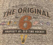 add25a751 item 8 NHL Old Time Hockey The Original 6 1942 1967 Boston Bruins Medium  Shirt Retro -NHL Old Time Hockey The Original 6 1942 1967 Boston Bruins  Medium ...
