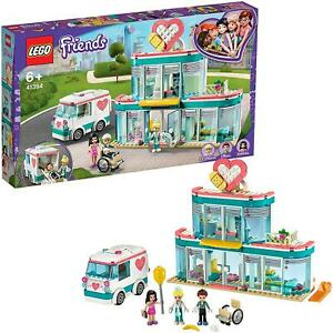 LEGO-41394-Friends-Heartlake-City-Hospital-Set-with-Emma-amp-Two-Other-Minifigs