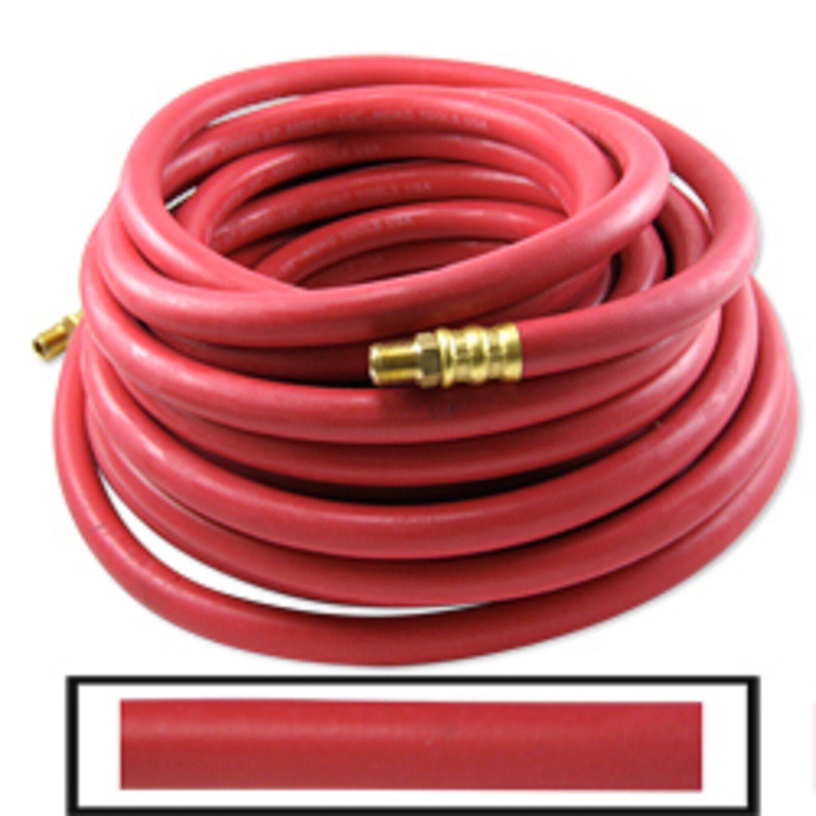 3 8  X 100' Rubber Air Hose All Weather