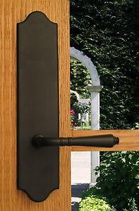Lavish Full Dummy Lever Set Back Plates Closet Inactive Double Doors By Fpl Ebay