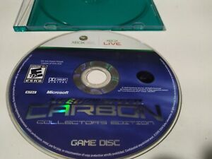 Need for Speed Carbon Collectors Edition Xbox 360 Tested Game Disc Only