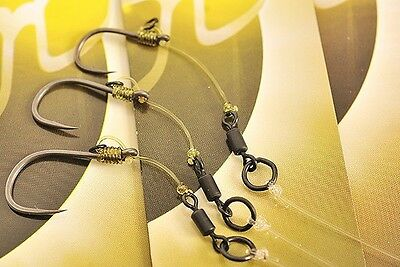 X6 New Pallatrax Gripz Fishing Hooks Not Barbed or Barbless