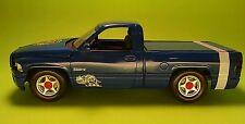 1997 dodge ram vts viper 1/25 built model car pickup truck metallic blue v10 bee
