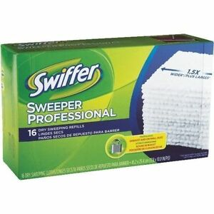 2 Pack 32 Cloths Swiffer Sweeper Professional Refill