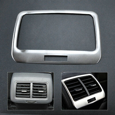 Car Rear Air-conditioning Outlet Cover Sticker Trim for VW GOLF MK7 2014