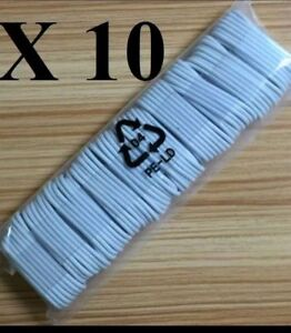 LOT-Of-10-X-3-FT-iPhone-5-6-7-8-x-Plus-Lightning-8-Pin-USB-Charger-Cord-Cable