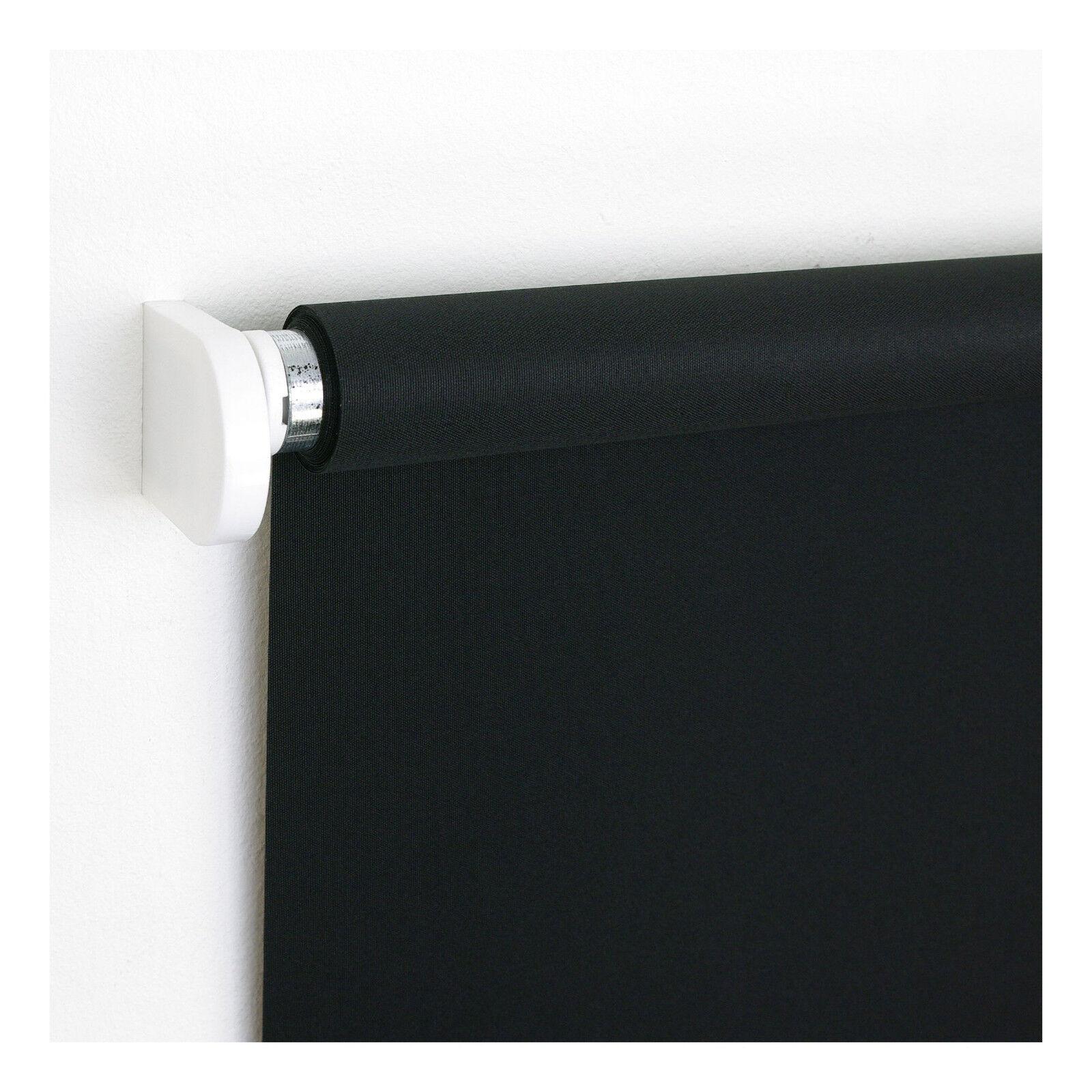 Schnapprollo Schwarz Mittelzugrollo Tür Fensterrollo Sichtschutz Dekoration  | Reichlich Und Pünktliche Lieferung  | Stilvoll und lustig  | New Product 2019